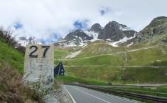 Old km marker