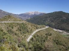Road to Col de Baume