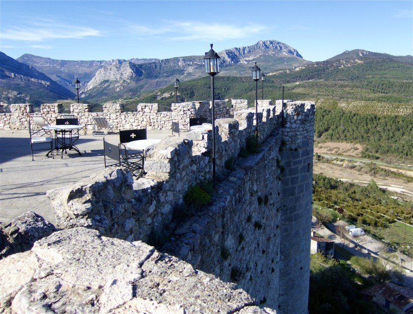 View from Château de Trigance