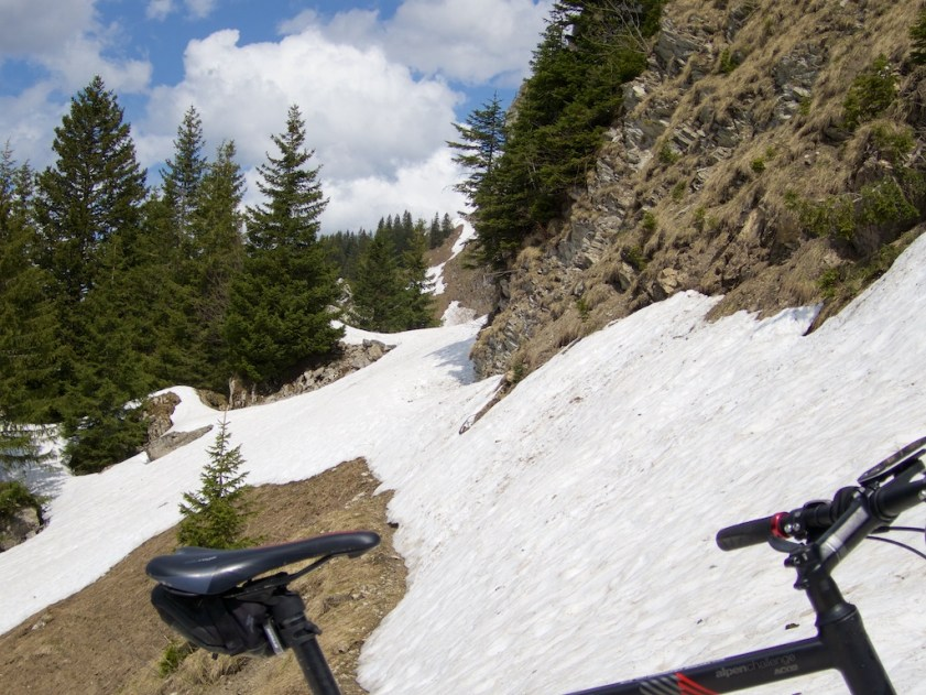 Col des Follys ahead.  Return visit required.