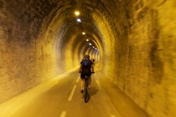 Annecy bike path tunnel