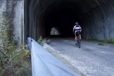 Old road has a tunnel too