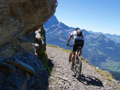 Rionda - Great cliff stretch