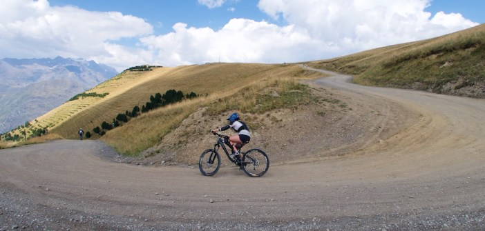 Lazy Downhill Biker