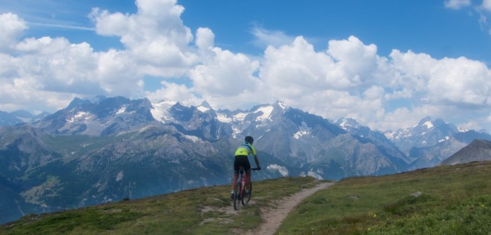 Col du Granon plus 5 Gravel Cols and a Perched Fort