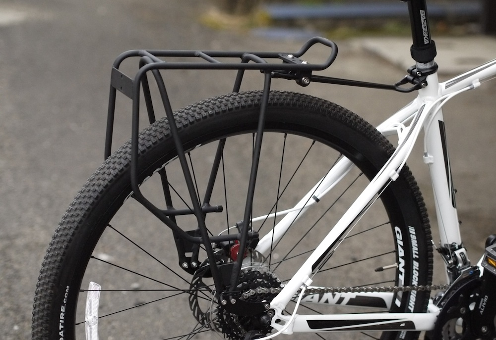 rear pannier racks for bicycle touring