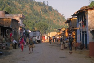 Nepalese village