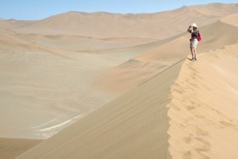 The famous dunes