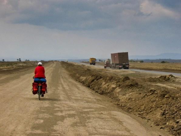 Old road to Lake Naivasha