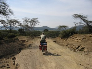 Road near Lake Naivasha