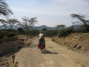 Road near Lake Naivasha