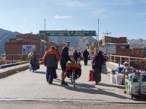 Border Peru - Bolivia