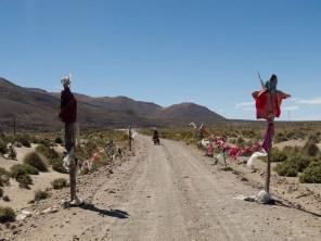 Entering the Chiapa road