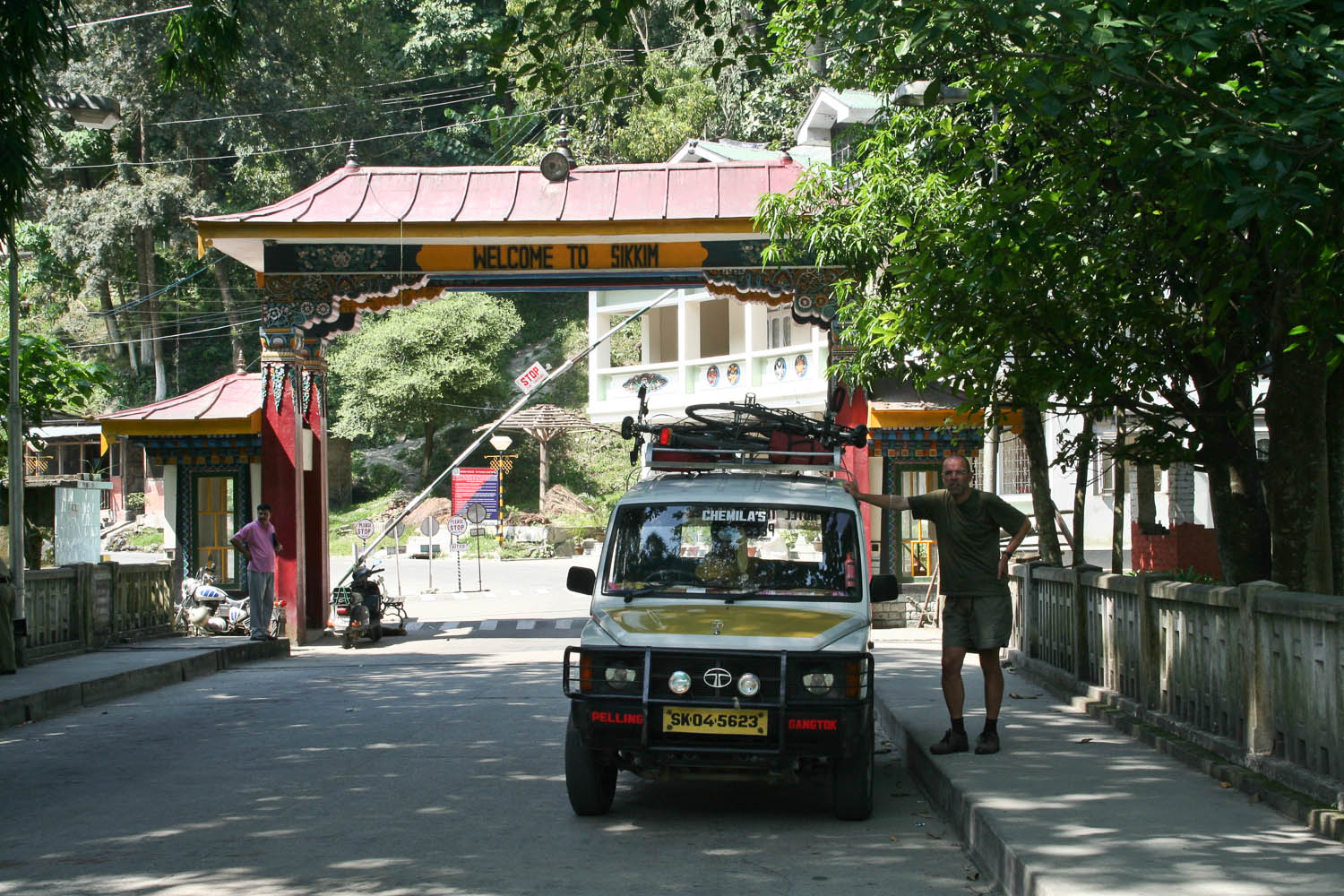 Taxi to Kalimpong