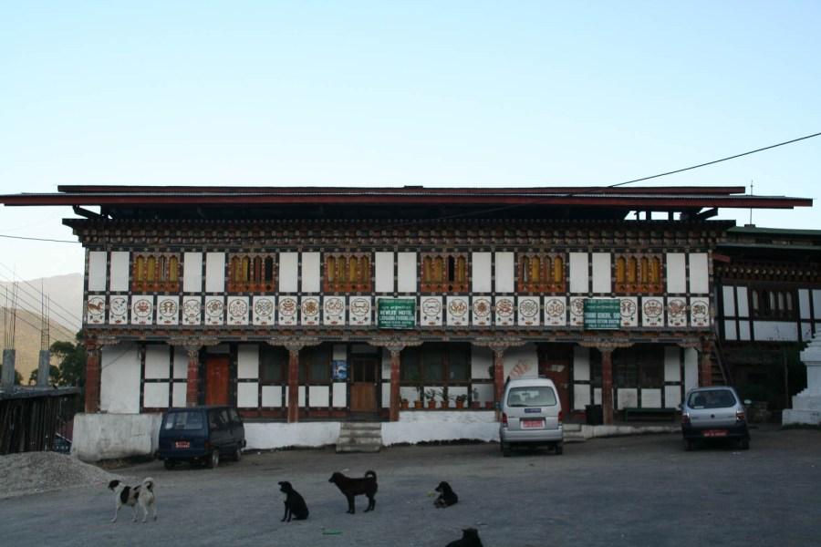 Bhutanese style hotel in Mongar