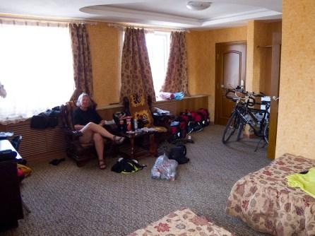 Hotelroom in Mongolia