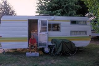 On-site van in Australia