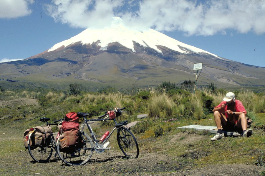 end of the road up the Cotopaxi