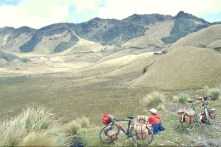High up into the Andes 4200 m