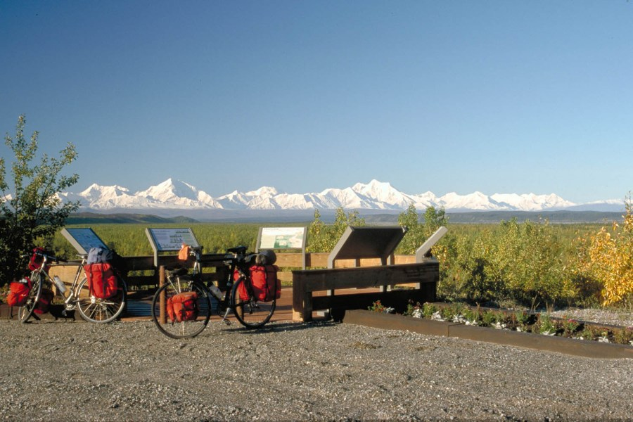 Just south of Fairbanks