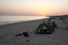 On the beach of Oman