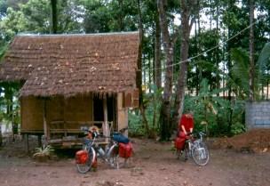 Basic hut in Thailand