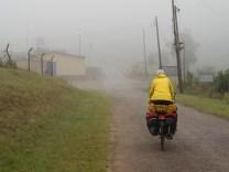 Leaving Swaziland on a misty morning
