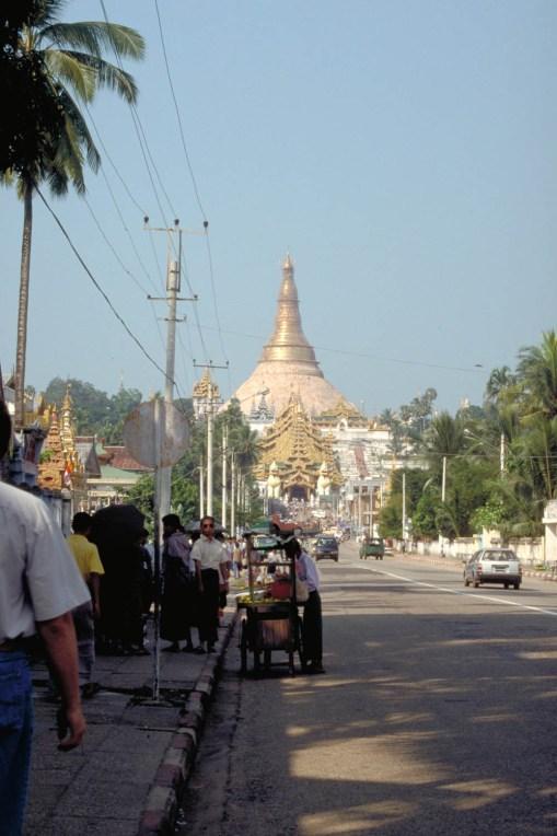 Street scene in Yangon