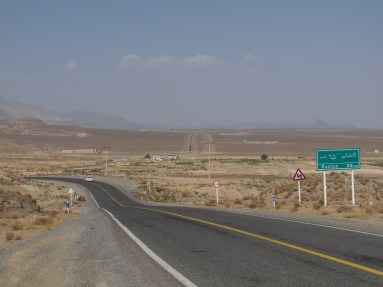 The old road to Isfahan is generally very quiet