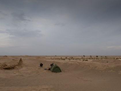 Camping between Yazd and Abarkuh