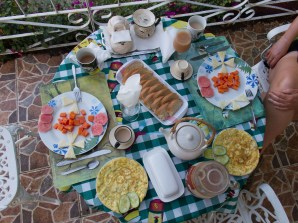 Casa particulares generally serve excellent breakfasts!