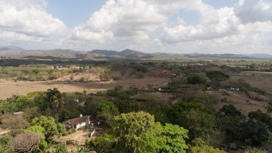 Valle de los Ingenios, east of Trinidad