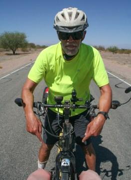 Echte Ruta 40 fietsers hebben een sticker ;-)