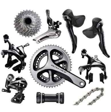best road bike components