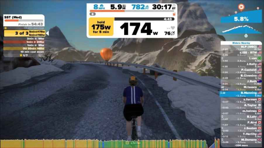 zwift mountain expansion