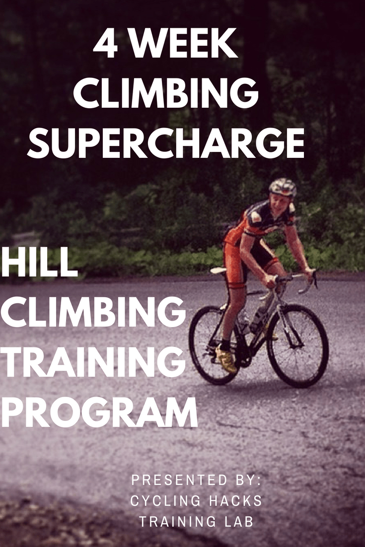 4 Week Climbing Supercharge – Hill Climbing Training Program