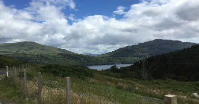 Mountain Biking Loch Lomond Inveruglas Ben Vane