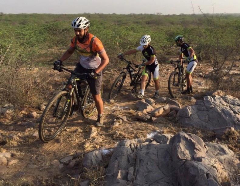 MTB Cycling in Teekli