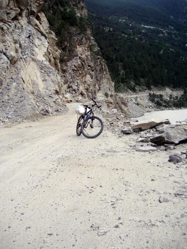 Cycling in Spiti