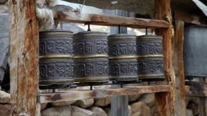 Prayer Wheels Spiti