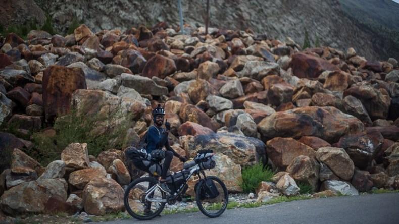 Cycling from Keylong to Zanskar Sumdo