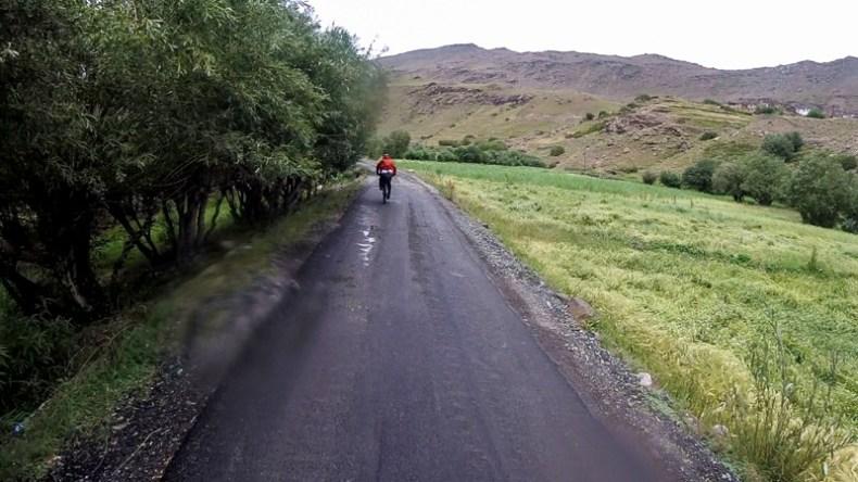 Cycling from Parkachik to Kargil through Suru Valley