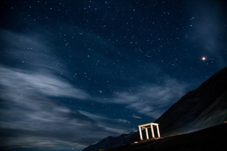 Night Sky at Pangong Tso