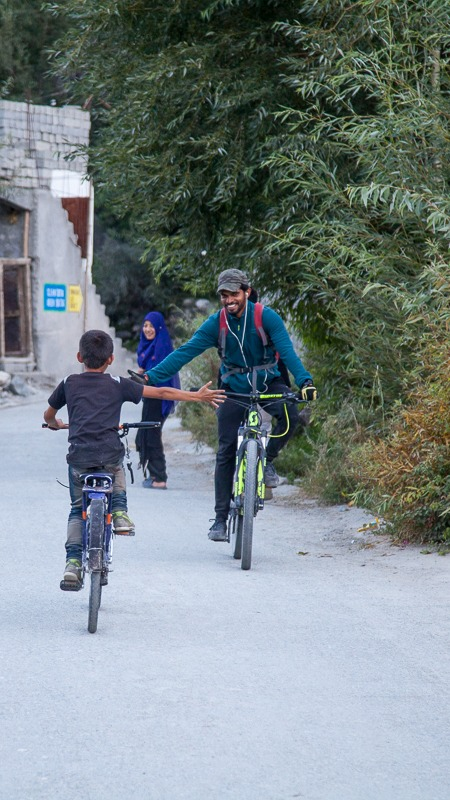 Cycling in Turtuk