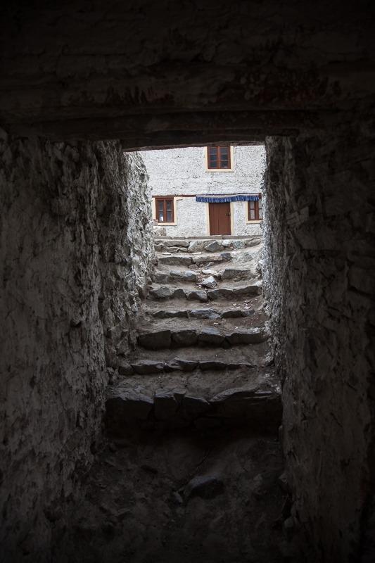 Inside Hanle Monastery