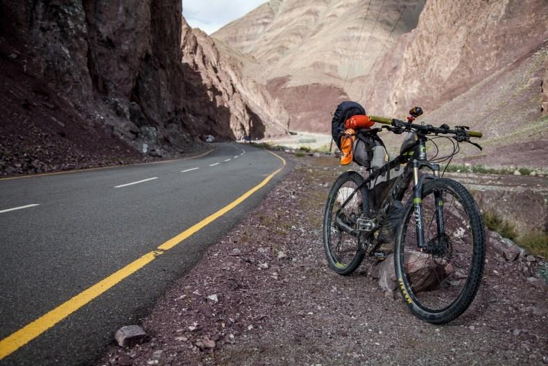 Smooth roads of Ladakh