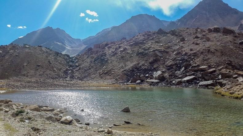 At the start of the Baralacha La climb near Sarchu