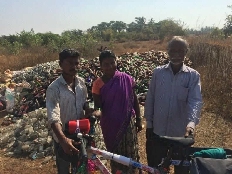 Bottle scavenging in Maharashtra