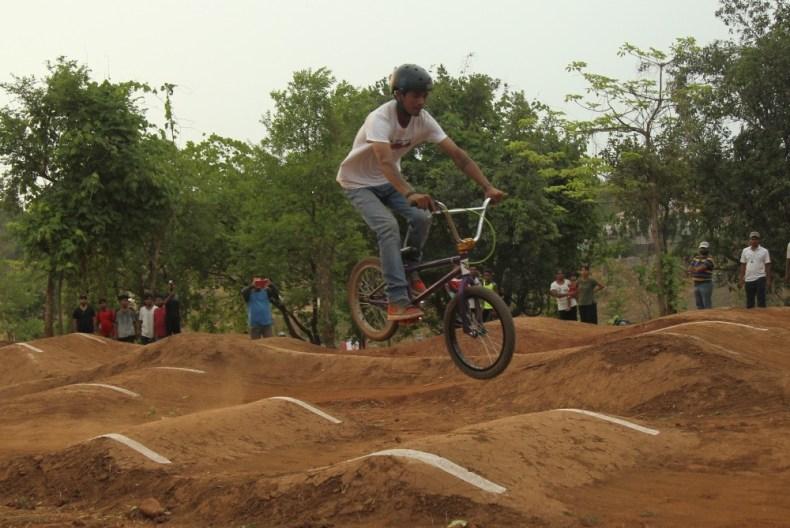 Hashmukh Parmar at GHV Endeavor Trail