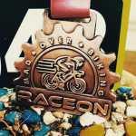 Mad Over Biking Race Medal